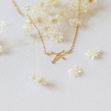 Load image into Gallery viewer, Zodiac Constellation Necklace- Gold