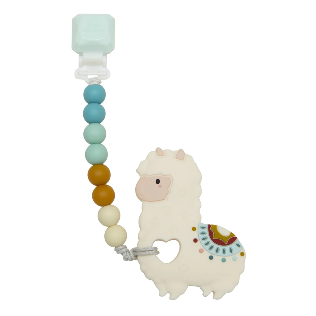 Llama Silicone Teether Set