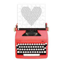 Load image into Gallery viewer, Vintage Typewriter Mini Puzzle