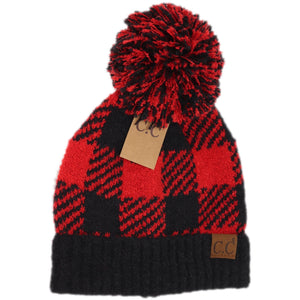 Red Buffalo Check Hat