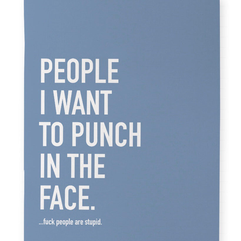 Punch People Notebook