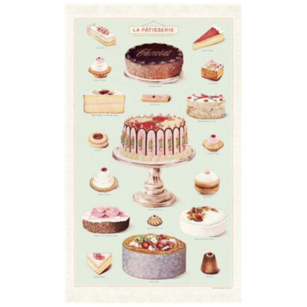 La Patisserie Tea Towel