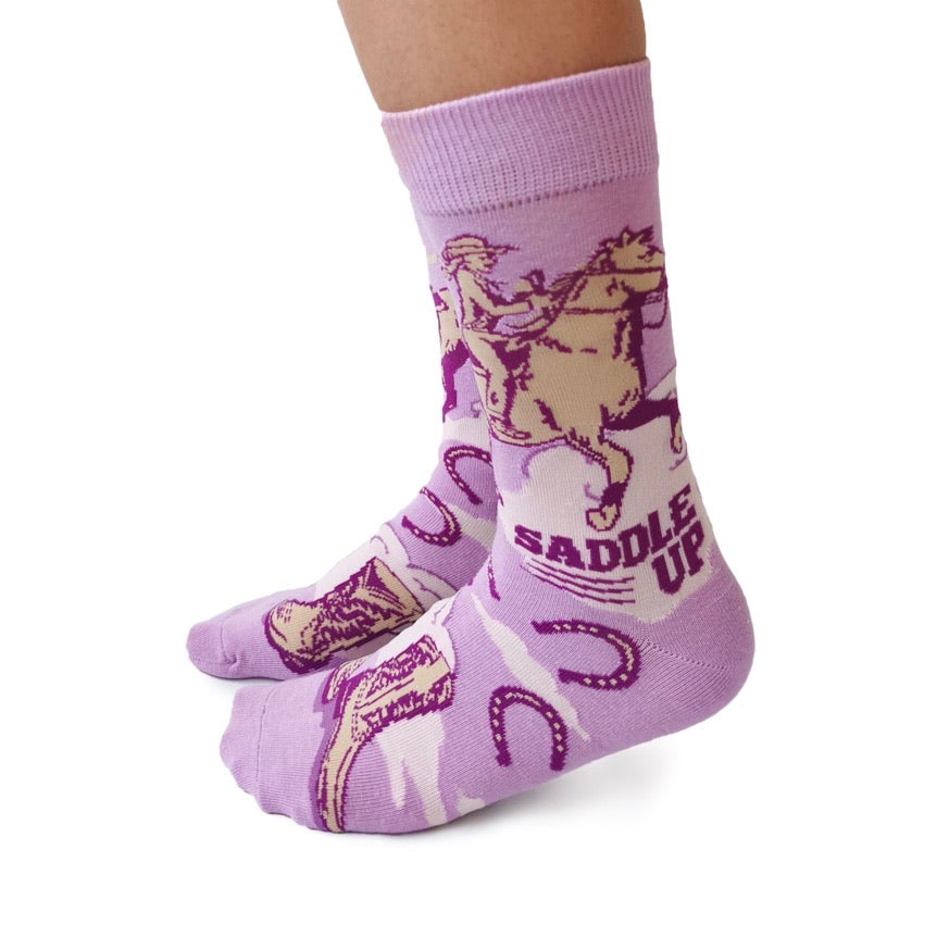Saddle Up Socks