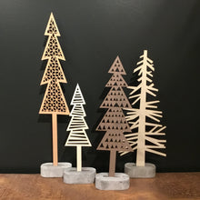 Load image into Gallery viewer, Wooden Trees- Diamond