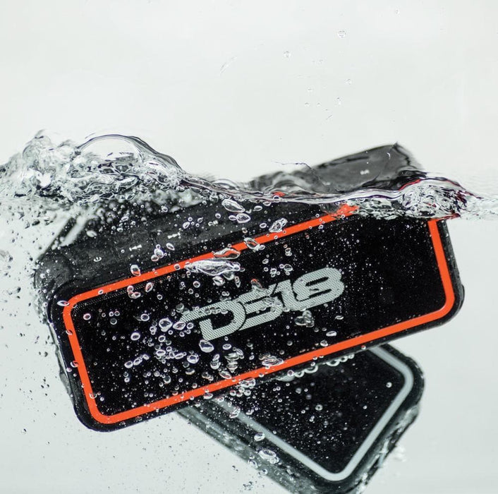 WATERPROOF PORTABLE BLUETOOTH SPEAKER WITH ULTRA HD AUDIO AND UPGRADED BASS BUILT-IN MICROPHONE/FLOATS ON WATER!