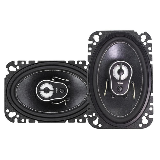 "BL4CK DI4MOND  4 x 6"" 3-WAY COAXIAL SPEAKERS 150 WATTS"