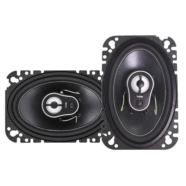 "BL4CK DI4MOND  4x6"" 3-WAY COAXIAL SPEAKERS 150 WATTS"