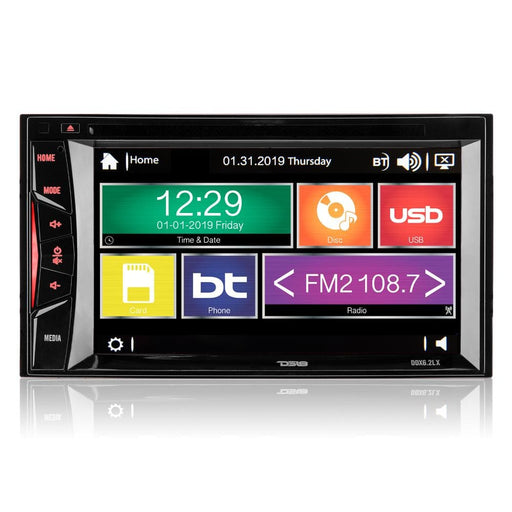 "DOUBLE-DIN, DVD PLAYER 6.2"" TOUCHSCREEN ADVANCE LINUX SOFTWARE, BLUETOOTH"