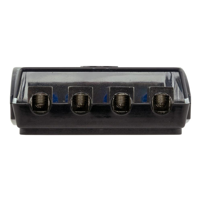 DS18 FD1024/48AFS-60A AFS MINI ANL FUSE HOLDER AND DISTRIBUTION BLOCK 1x0GA   2x4GA IN - 4x8GA OUT WITH 60A FUSES