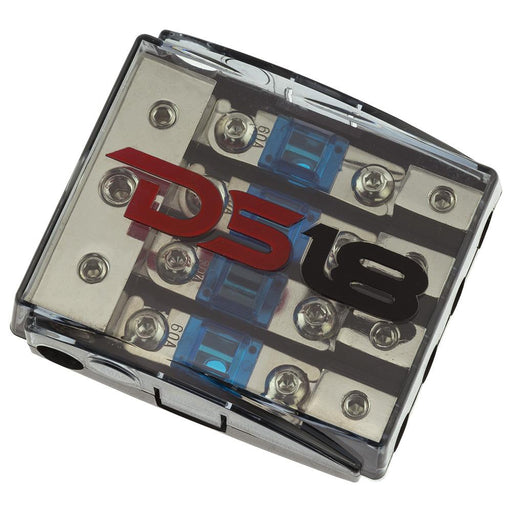 AFS MINI ANL FUSE HOLDER AND DISTRIBUTION BLOCK 1x0GA   2x4GA IN - 4x8GA OUT WITH 60A FUSES