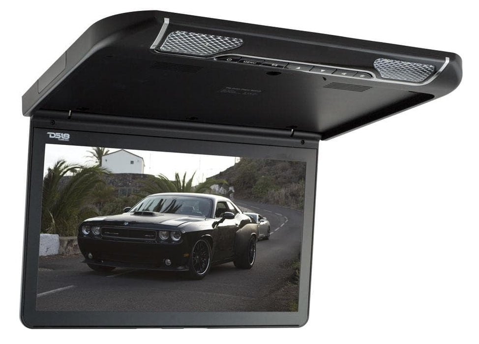 "13.3"" ULTRA SLIM ROOF MOUNT MONITOR 1920x1080 PIXELS DVD HDMI AV FM IR & BUILT IN MULTIMEDIA"