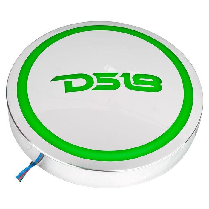 DS18 BADGE WITH RGB LIGHTS