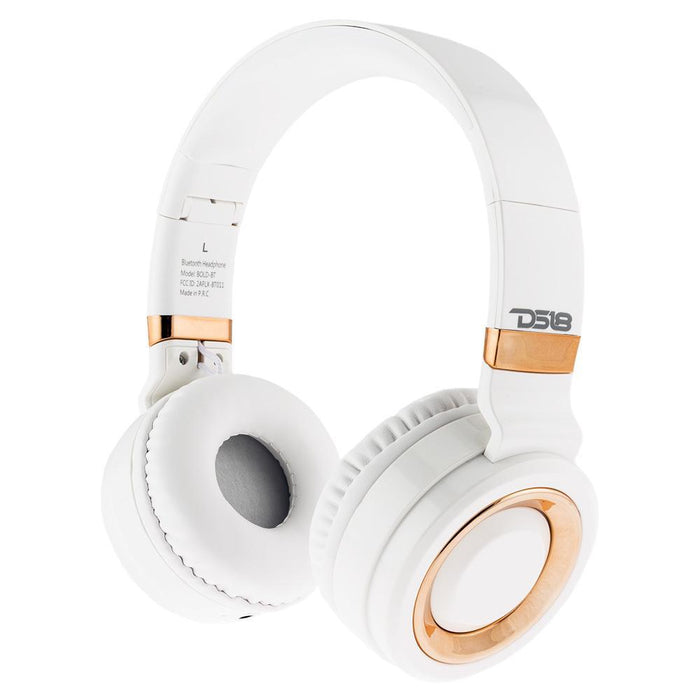LIFESTYLE OVER EAR FOLDABLE NOISE CANCELLING BLUETOOTH HEADPHONE WITH MICROPHONE