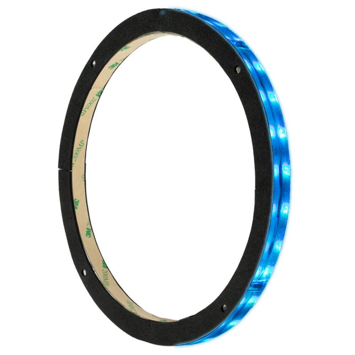 "12"" LED RGB ACRYLIC RING FOR SPEAKERS AND SUBWOOFERS"