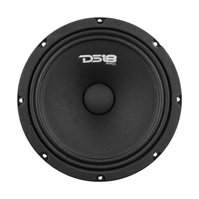 "PRO GM SERIES 8"" MIDRANGE LOUDSPEAKER 8 OHM 580 WATTS SEALED BACK"