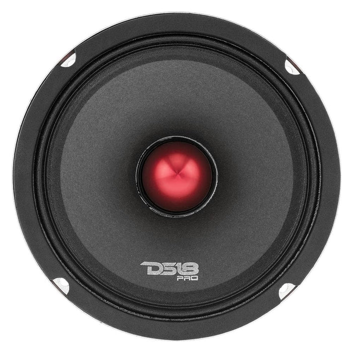 "PRO H SERIES 6.5"" MIDHIGH LOUDSPEAKER WITH BULLET 8 OHM 500 WATTS EDGE CONE"