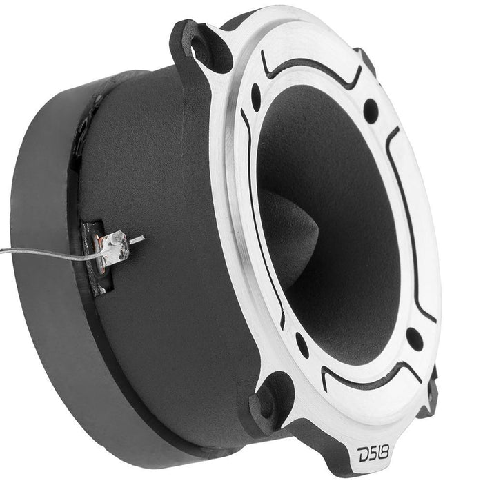 "DS18 PRO-TW120 1"" PRO ALUMINUM SUPER BULLET TWEETER VC 300 WATTS WITH BUILT IN CROSSOVER  (PAIR )"