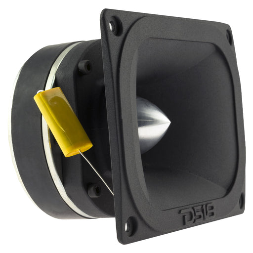 "DS18 PRO-TW510 1.5"" PRO ALUMINUM SUPER BULLET TWEETER VC 400 WATTS WITH BUILT IN CROSSOVER (SINGLE)"