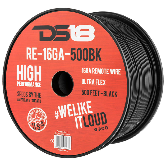 16 GA ULTRA FLEX REMOTE WIRE PRIMARY WIRE 500'