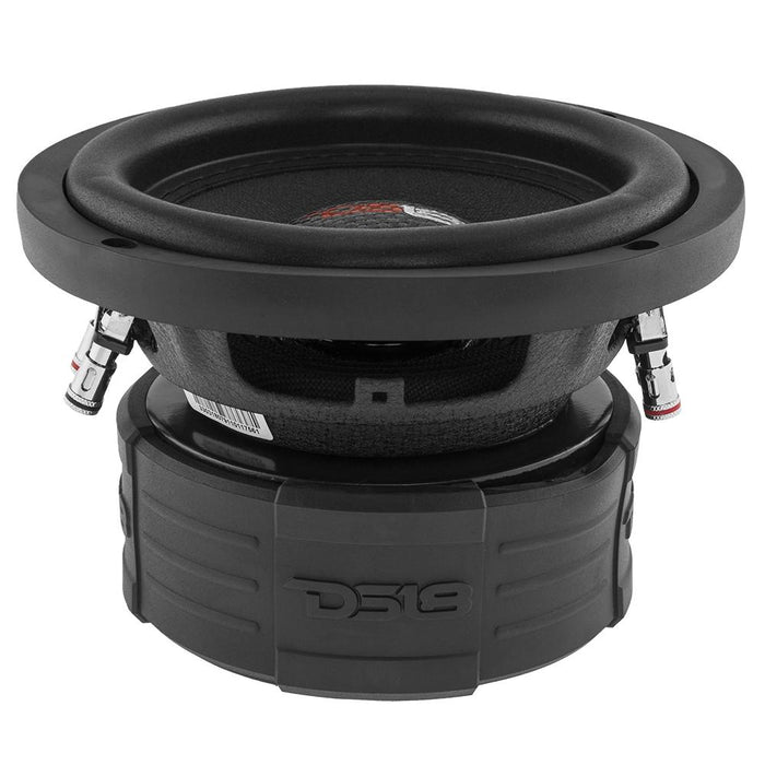 "ELITE 6.5"" SUBWOOFER 4 OHM 600 WATTS WITH CARBON FIBER DUST CAP DVC"