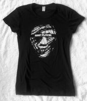 "Not Skull 1 - Women's T-Shirt <br>""Distressed"" (Limited to 50)"