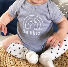 Load image into Gallery viewer, Be kind baby onesie