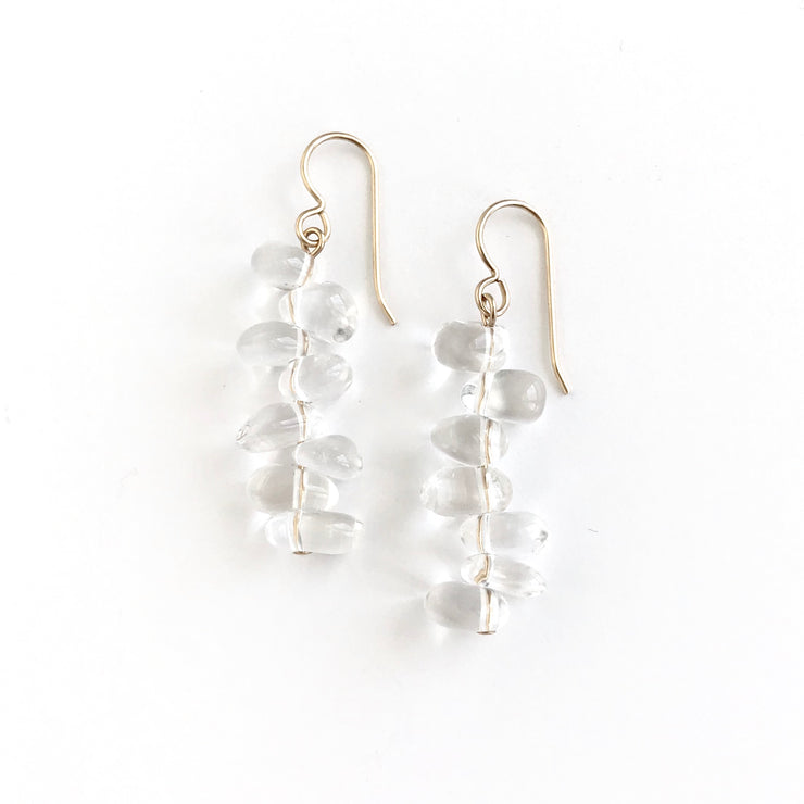 Bedazzled Multi-Quartz Earring