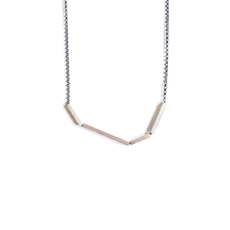*NEW* Mini Abstract Necklace with Square Tubes