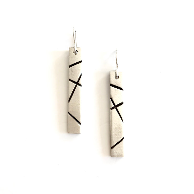 Travels Earrings-Sterling Silver