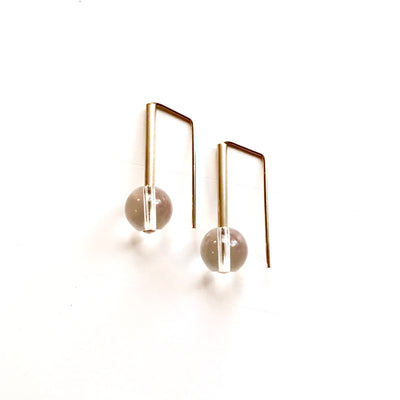 Clear Quartz Everyday Earrings