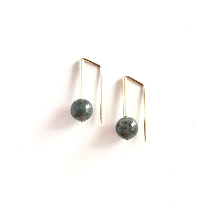Labradorite Everyday Earring