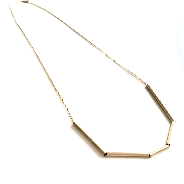 *NEW* Long Abstract Tube Necklace