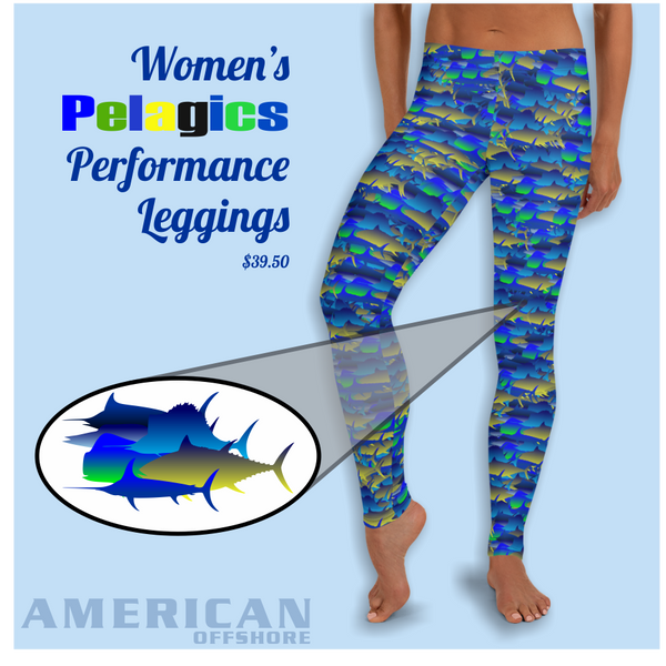Women's Pelagic Performance Leggings
