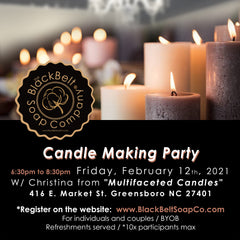Candle Making Party