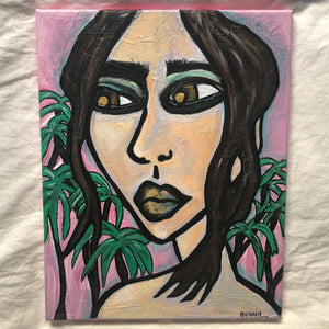 """Baja Lady"" - Acrylic on canvas by Kala Carela"