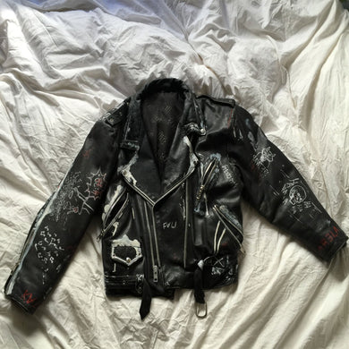 Black Leather Jacket by Kala Carela