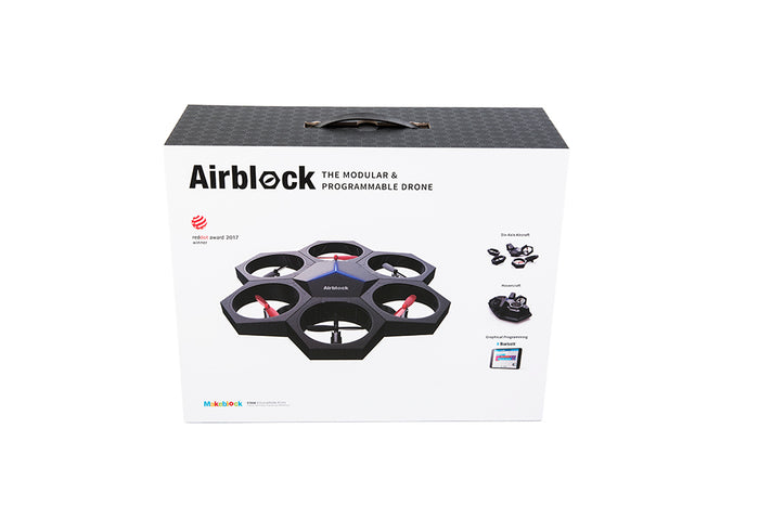 MakeBlock - Airblock - Transformable Drone / Hovercraft - STEM Robot Kit (99808) | STEM Toy Store | STEMToyStore.com