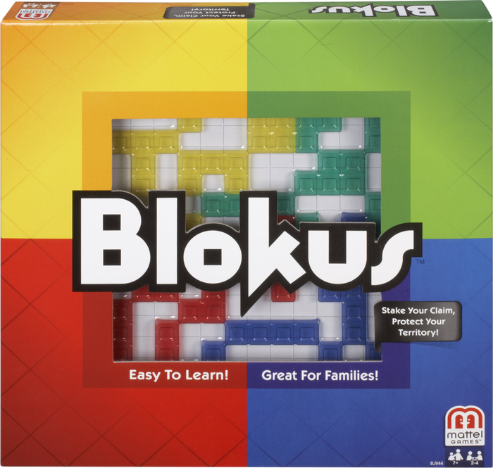 Mattel Blokus Game 1Ct Box | STEM Toy Store | STEMToyStore.com