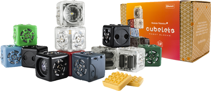 Modular Robotics Cubelets TWELVE Robot Block Kit - 107776 | STEM Toy Store | STEMToyStore.com
