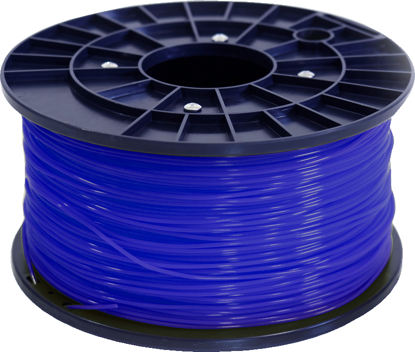 Polar 3D 1Kg Spool PLA Filament (Blue) - Blue 3D Printing Materials