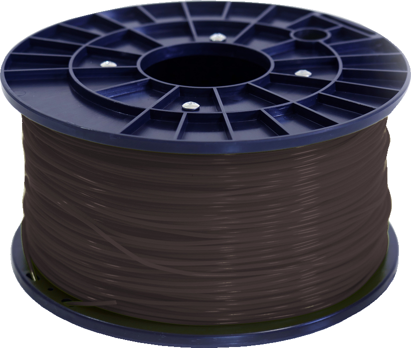 Polar 3D 1Kg Spool PLA Filament (Brown) - Brown 3D Printing Materials