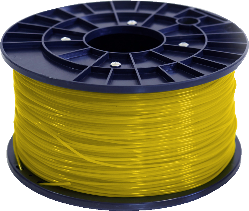 Polar 3D 1Kg Spool PLA Filament (Gold) - Gold 3D Printing Materials