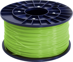 Polar 3D 1Kg Spool PLA Filament (Lime) - Lime 3D Printing Materials