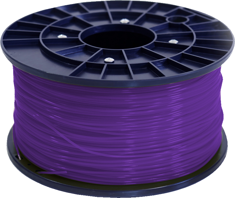 Polar 3D 1Kg Spool PLA Filament (Purple) - Purple 3D Printing Materials