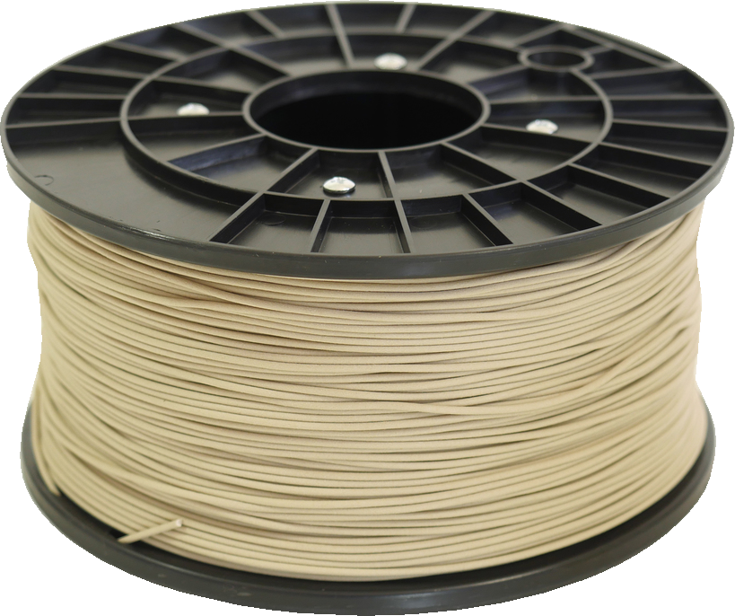 Polar 3D 1Kg Spool PLA Filament (Wood) - Brown 3D Printing Materials