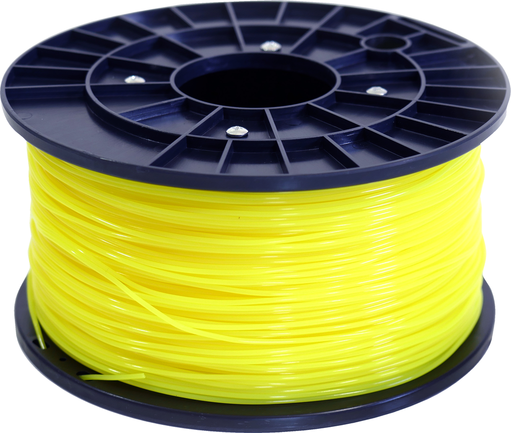 Polar 3D 1Kg Spool PLA Filament (Yellow) - Yellow 3D Printing Materials