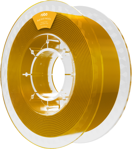 Robo PLA Gold Metallic 500g Filament - Gold 1.75mm - PLA Gold Metallic