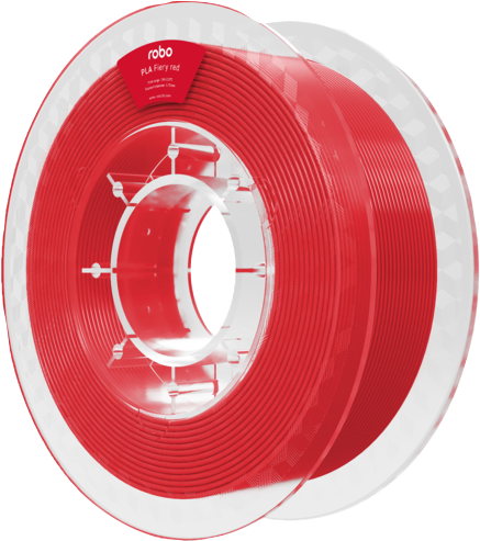 Robo PLA Fiery Red 500g Filament - Red 1.75mm  PLA Fiery Red
