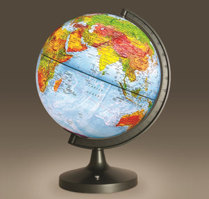 "ELENCO - Edu-Toys - 11"" Dual-Cartography LED Illuminated Globe - EDU2837 