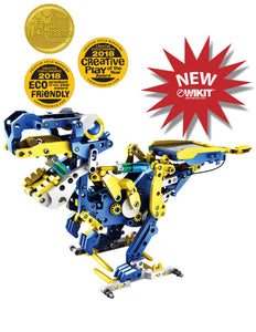 OWI Robot - OWI-MSK618 - Dodeca 12 in 1 Solar-Hydraulic Robot | STEM Toy Store | STEMToyStore.com